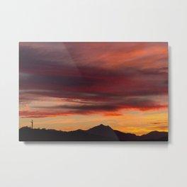 Az Sunset Metal Print