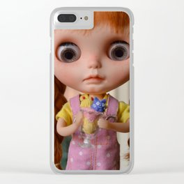 Robin - Oh! Ice cream Clear iPhone Case