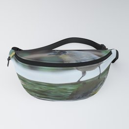 Reading the Evening Mirror Fanny Pack