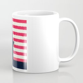 Patriotic American Flag Coffee Mug