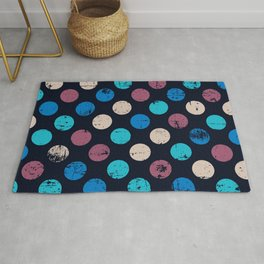 Dark and Light Sides of the Moon Rug
