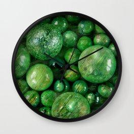 Greenballs Wall Clock