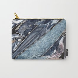 Sperm whale, grey, blue, fin, minke and right whales Carry-All Pouch