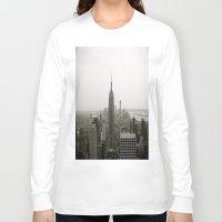 concrete Long Sleeve T-shirts featuring Concrete Jungle by floridagurl