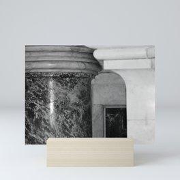 Marble Column Saint Peters Basilica Photo by Larry Simpson Mini Art Print