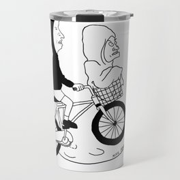 Beavis and Butthead Extra Terrestrial Graphic T-Shirt Travel Mug