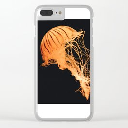 beautful jellyfish Clear iPhone Case