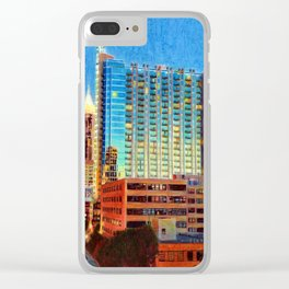 Peachtree Street South Clear iPhone Case