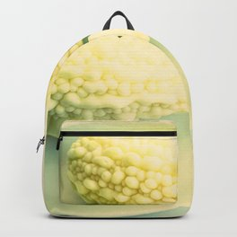 White Melons in plate Backpack