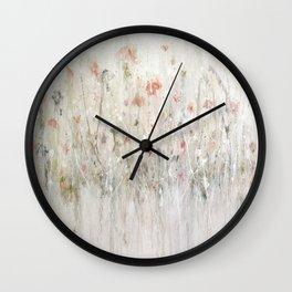 little pink Wall Clock