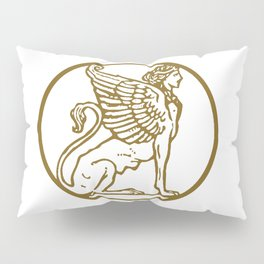 ForteFemme Sphynx of Empowered Women - image only 2 Pillow Sham