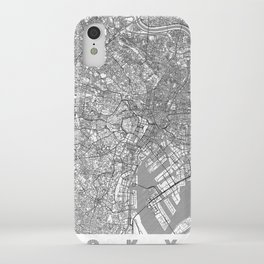 Tokyo Map Line iPhone Case