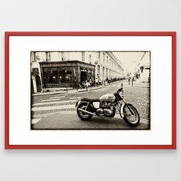 Le Progres Triumph  Framed Art Print