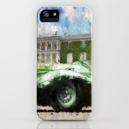 Jaguar D-Type iPhone Case