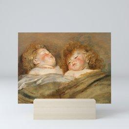 Two Sleeping Children by Peter Paul Rubens, 1612 Mini Art Print