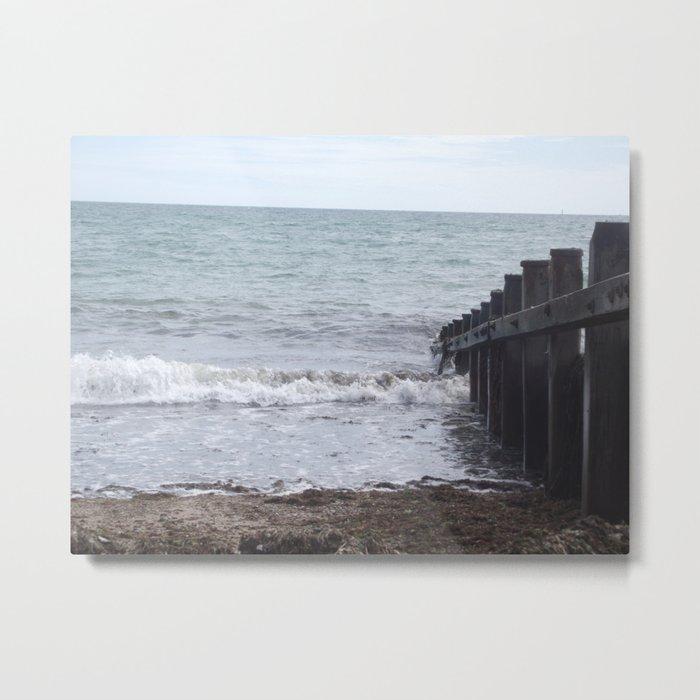 Beach Sea-side  Metal Print