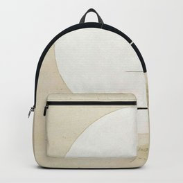 Hilma Af Klint Buddha's Standpoint In The Earthly Life Backpack
