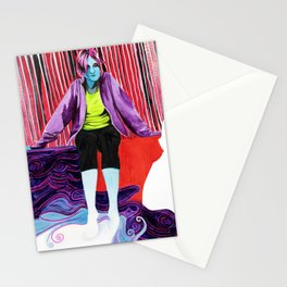 Melting in Fluorescence Stationery Cards