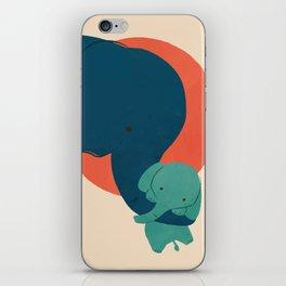 Baby Elephant 2 iPhone Skin