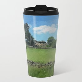 country landscape Holmfirth Travel Mug