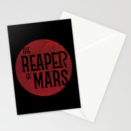 The Reaper of Mars Stationery Cards