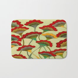 Poppies (warm) Bath Mat