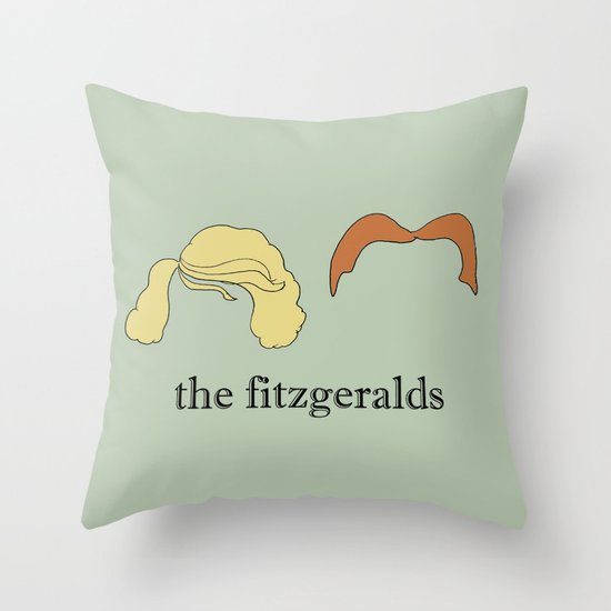 The Fitzgeralds Throw Pillow