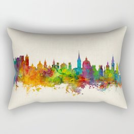 Salzburg Austria Skyline Rectangular Pillow