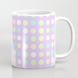 Pastel Polka Dots Coffee Mug