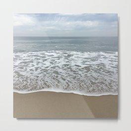 Calm Surfing Metal Print