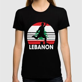 Lebanon Soccer Football LBN T-shirt