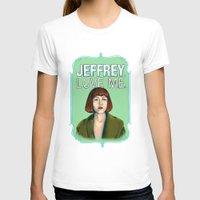 lebowski T-shirts featuring BIG LEBOWSKI- Maude Lebowski - Jeffrey. Love me. by Michelle Eatough