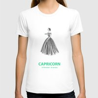 capricorn T-shirts featuring Capricorn by Cansu Girgin