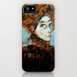 Dama Cosmopolita iPhone Case