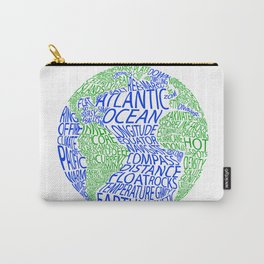 Oceanography Carry-All Pouch