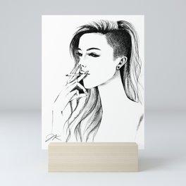 Bad Bee Mini Art Print