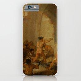 "Francisco Goya ""Casa de locos (The Madhouse)"" iPhone Case"
