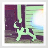 puppy Art Prints featuring Puppy by Karolis Butenas