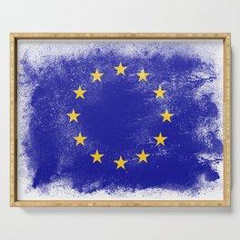 EU European Union Serving Tray