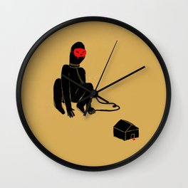 omo/lupo Wall Clock