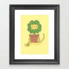 To Be King! Framed Art Print