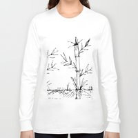 bamboo Long Sleeve T-shirts featuring bamboo by aticnomar