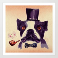 Mr. Bulldog II Art Print