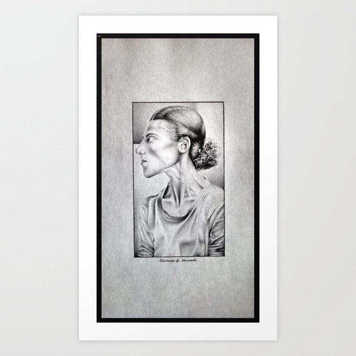 Friend of Chief  Art Print