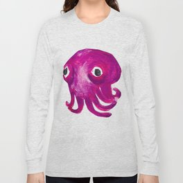 Stubby Squid! Rossia pacifica! Long Sleeve T-shirt
