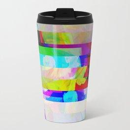 Polygon Glitch Travel Mug