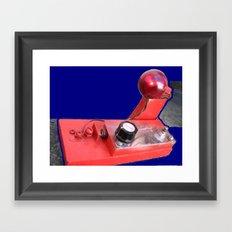 rudolph's nose Framed Art Print