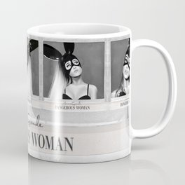 Dangerous Woman Drawings Design Pattern Coffee Mug