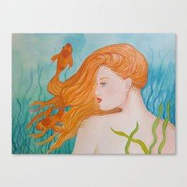 Golden Locks Canvas Print