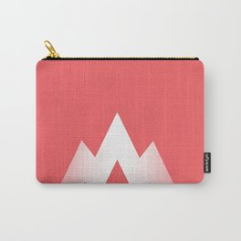 Coral Pink Carry-All Pouch